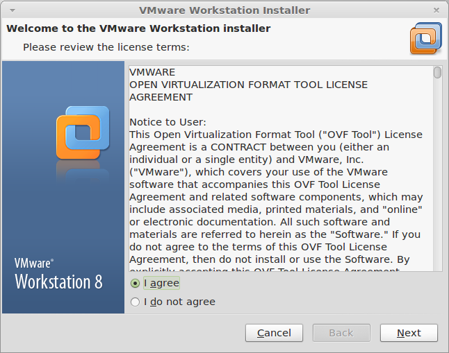 Install VMware Workstation 9 on Linux Mint 14