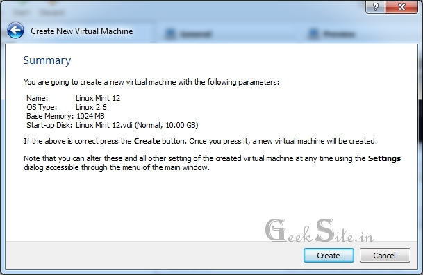 Install Linux Mint 12 in VirtualBox | Install Linux Mint in