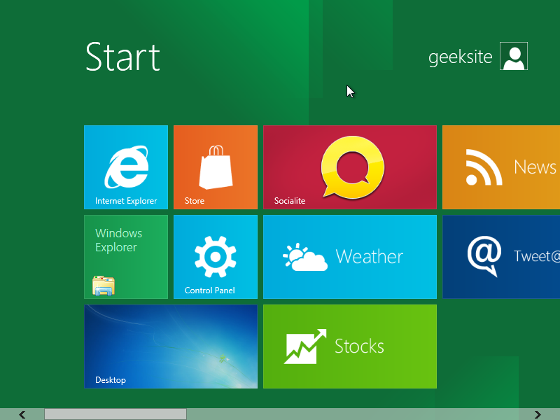 Get Windows 7 Start Menu in Windows 8 Developer Preview