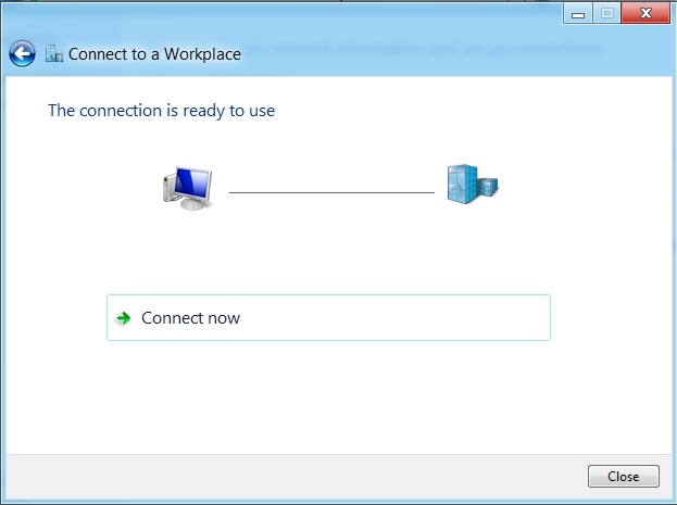 how to delete a vpn connection windows 8