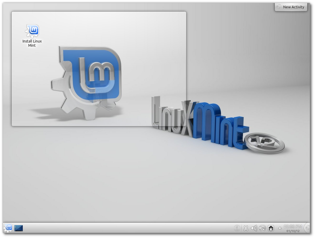 Linux Mint 12 KDE RC released! – Linux Mint