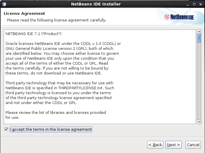 How to Install NetBeans IDE 7 1 on CentOS 6 2/6 1/6 0 / CentOS 5 7