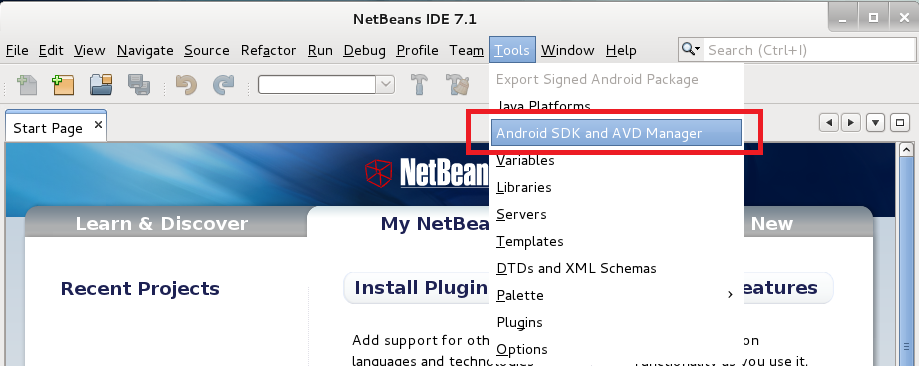 How to Setup Android SDK 4 0 3 with NetBeans IDE 7 1 on Fedora 15/16