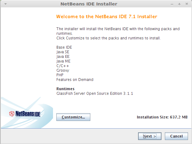 How to Install NetBeans IDE 7 1 on Linux Mint 12 / Linux