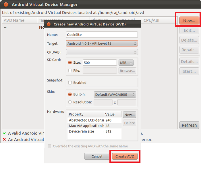 How to Install Android SDK 4 0 3 and Eclipse ADT on Linux Mint 12
