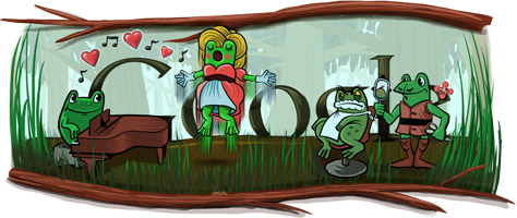 Google Celebrates Gioachino Rossini's 220th Birthday with Leap Year