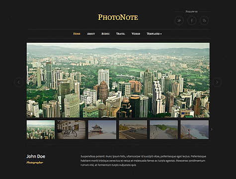 Download – PhotoNote WPZoom Premium WordPress Theme