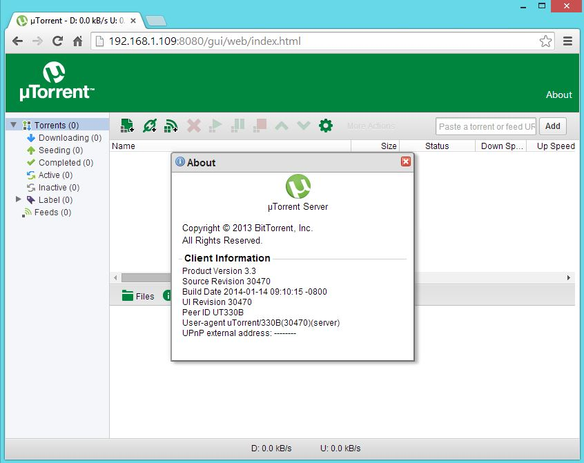 Utorrent on Ubuntu 14.04