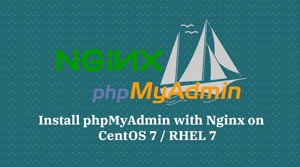 How To Install phpMyAdmin with Nginx on CentOS 7 / RHEL 7