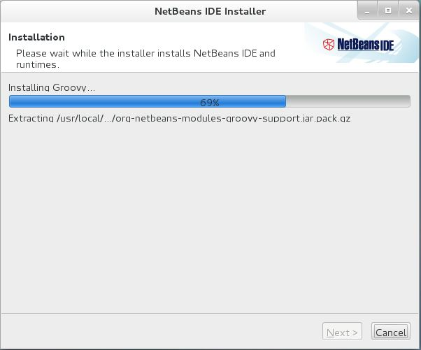 CentOS 7 - NetBeans IDE 8.0.1 Installing