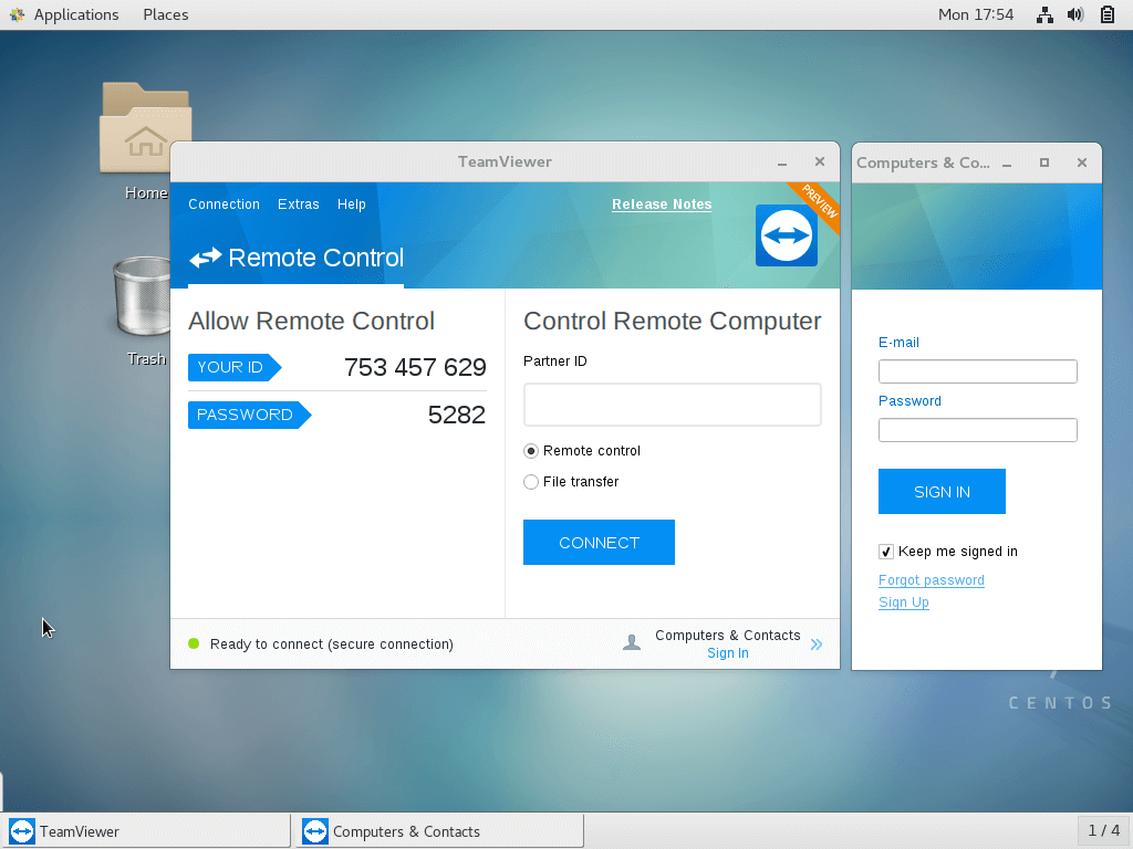 How to Install TeamViewer on CentOS 7 / RHEL 7 - ITzGeek