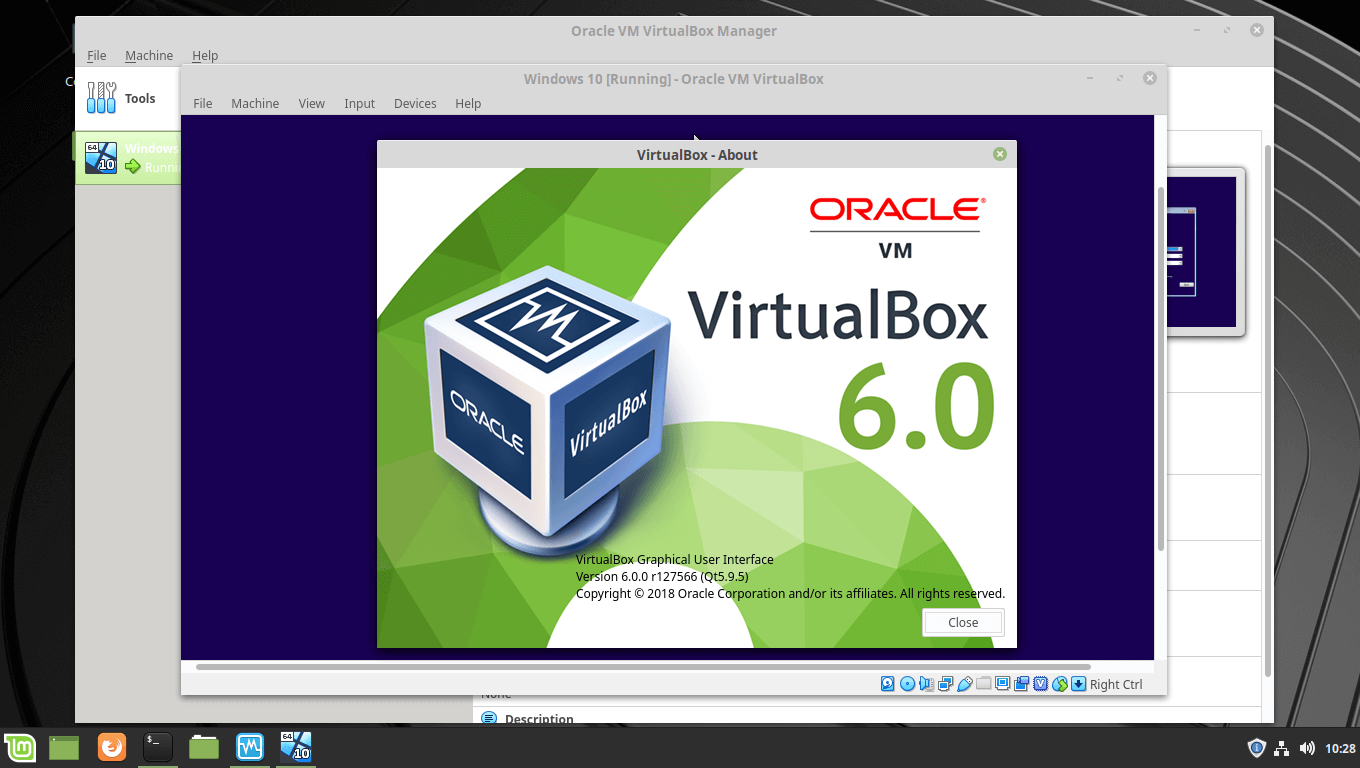 How To Install VirtualBox 6 0 / 5 2 on Linux Mint 19 / Linux