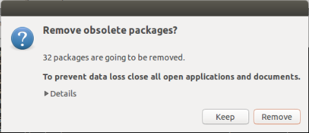 Ubuntu 14.10 Upgrade -  Remove Packages