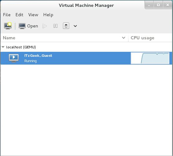 Install KVM (QEMU) on CentOS 7 - Virt Manager