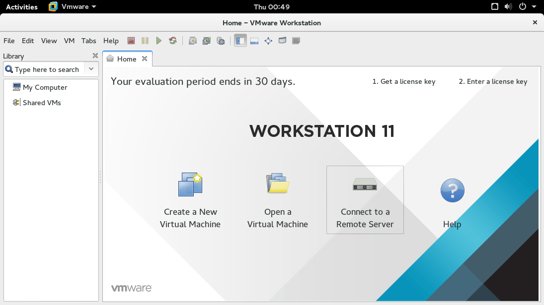 Fedora 22 - VMware Workstation 11