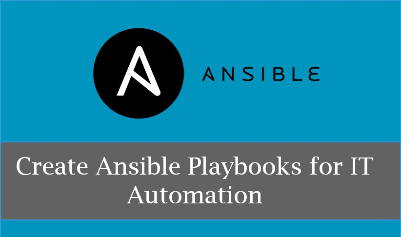 How To Create Ansible Playbooks for IT Automation - DevOPS