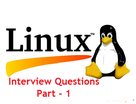 Linux Interview Questions and Answers - Part 1