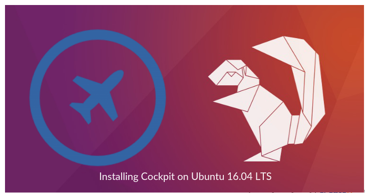 Install Cockpit on Ubuntu 16.04