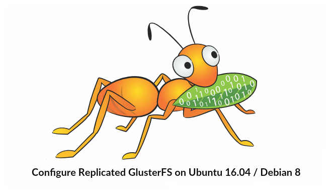 Install and Configure GlusterFS on Ubuntu 16 04 / Debian 8