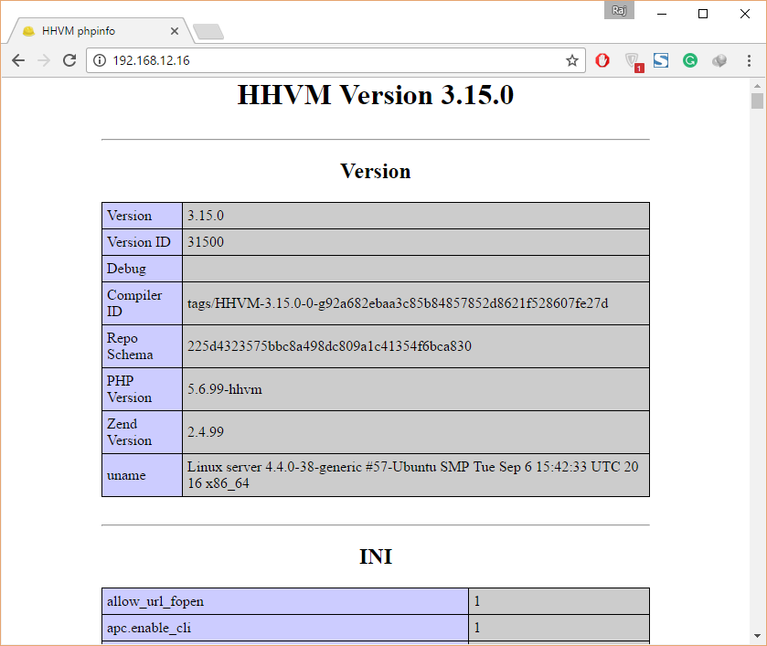 Install HHVM on Ubuntu 16.04 - HHVM with Nginx