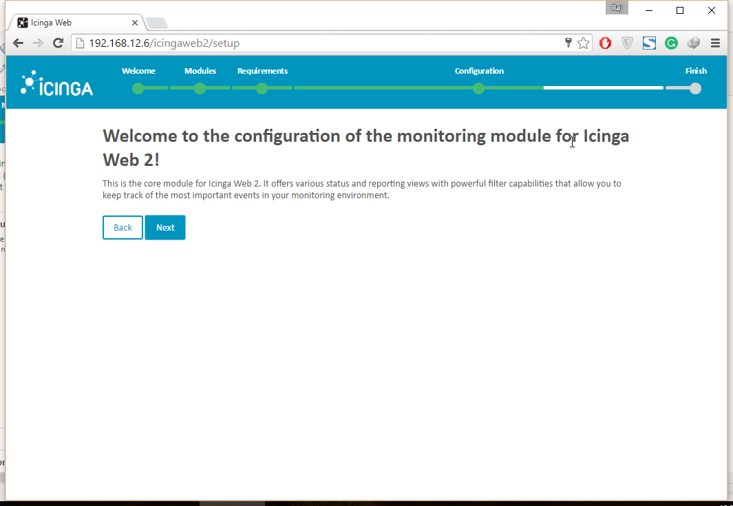 Setup Icinga Web 2 on Ubuntu 16.04 - Monitoring Module