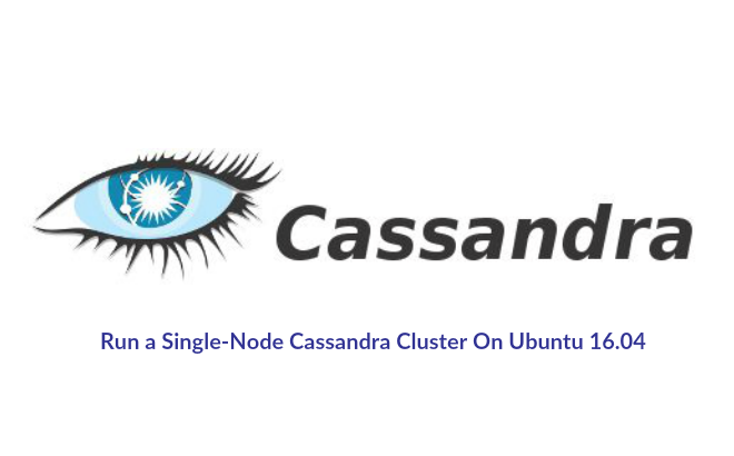 Install Cassandra on Ubuntu 16.04