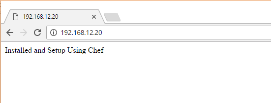 Create a Simple Chef Cookbooks - Apache Page