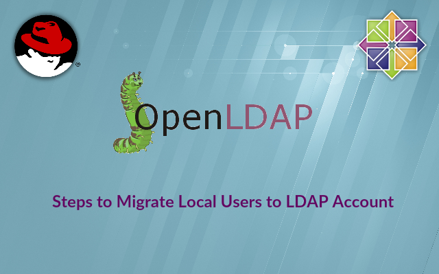 Migrate local users to LDAP accounts