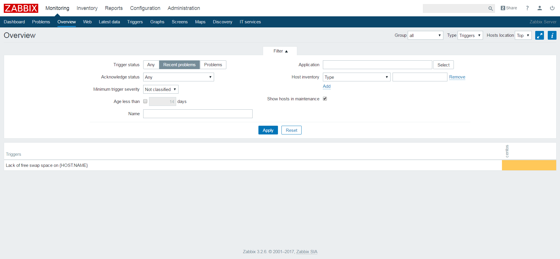 Add a Node to Zabbix Server for Monitoring - Overview of Issues