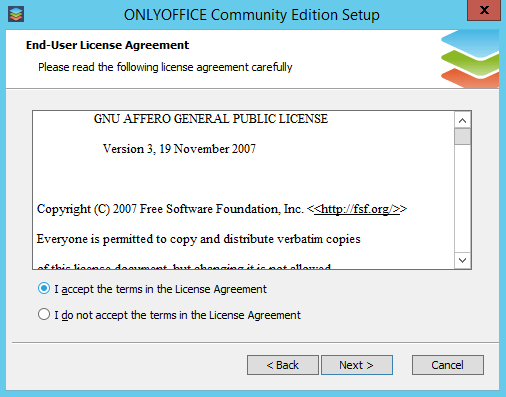 Deploy Your Private Web Office on Windows - License