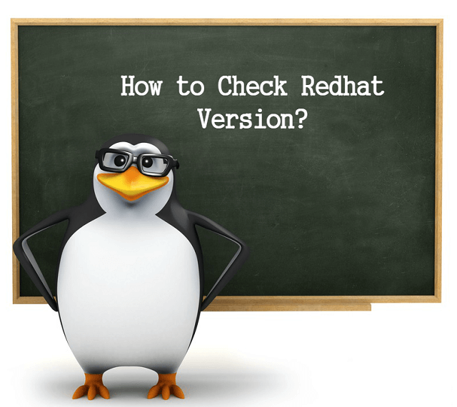 How to Check Redhat Version