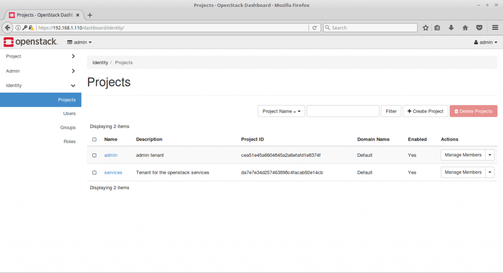 Single Node OpenStack Installation on CentOS 7 - OpenStack Projects