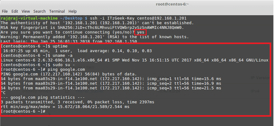 Connect OpenStack VM Instance
