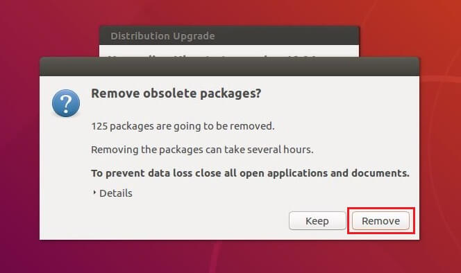 Upgrade To Ubuntu 18.04 From Ubuntu 16.04 - Remove Absolute Packages