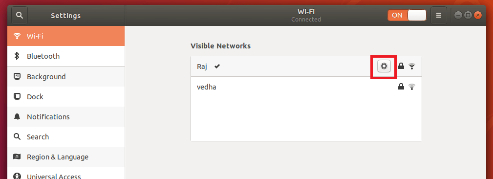 Configure Static IP Address in Ubuntu 18.04 - Configure WIFI