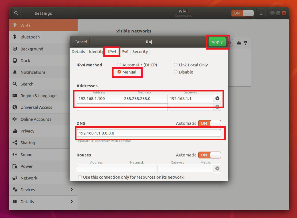 Netplan - How To Configure Static IP Address in Ubuntu 18 04 using