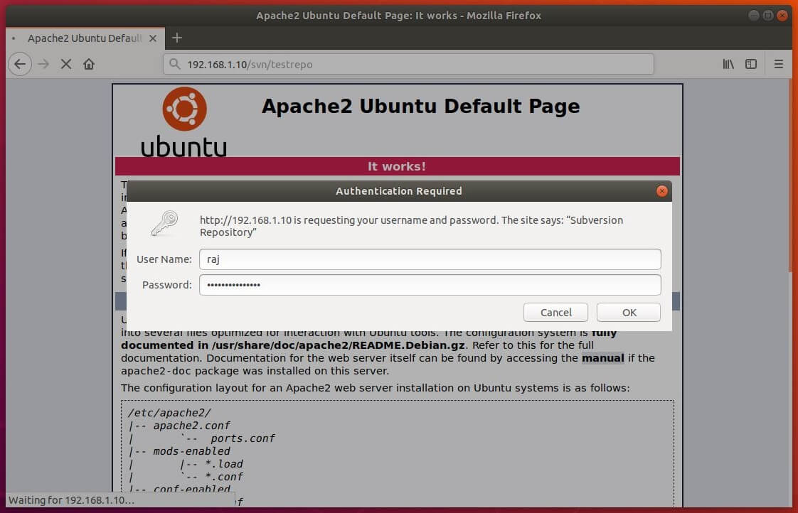 How To Install Apache SVN on Ubuntu 18 04 LTS (Bionic Beaver)