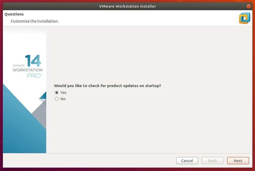 How To Install VMware Workstation Pro 14 on Ubuntu 18 04