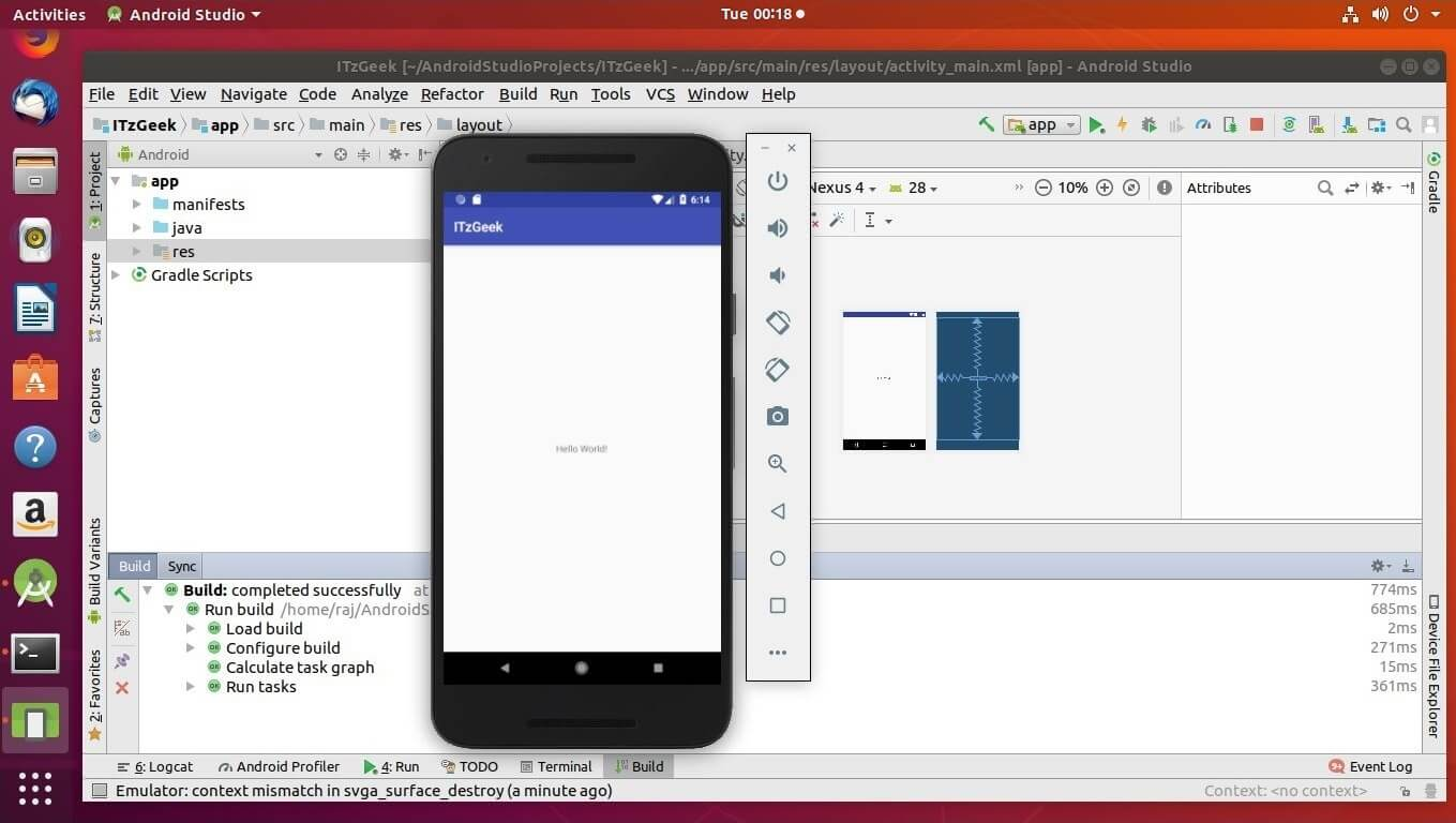 How To Install Android Studio on Ubuntu 18 04 LTS (Bionic
