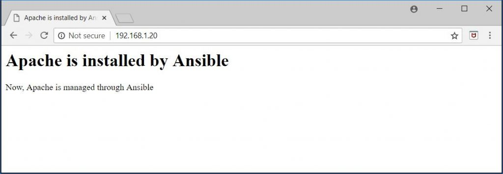 Create Ansible Playbooks - Manage Apache Through Ansible