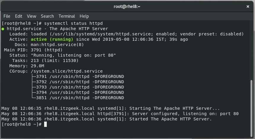 How To Install Linux, Apache, MariaDB, PHP (LAMP Stack) on RHEL 8