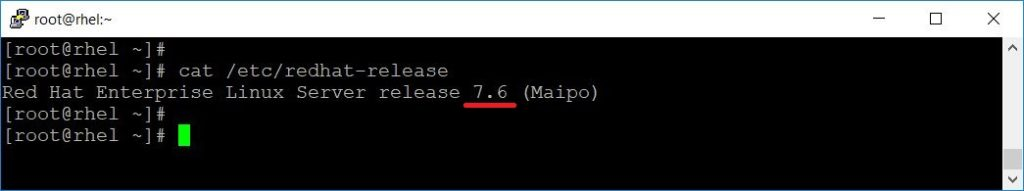 System Updated to RHEL 7.6