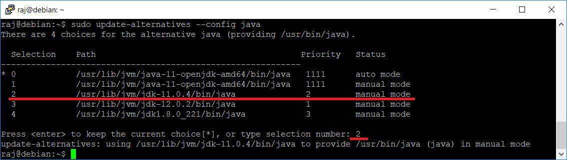 How To Install Oracle Java JDK 12 / 11 / 8 on Debian 10 / Debian 9