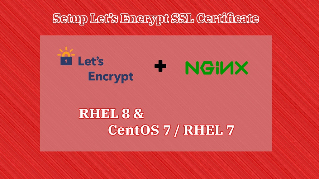 Setup Let's Encrypt SSL Certificate With Nginx on RHEL 8 & CentOS 7