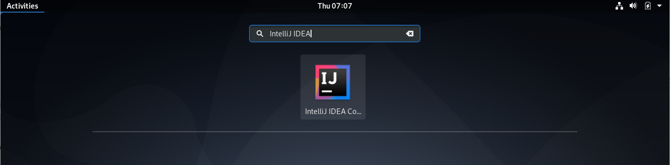 Start IntelliJ IDEA Community Edition