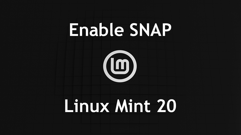 How To Enable Snap Package Manager On Linux Mint 20 | ITzGeek